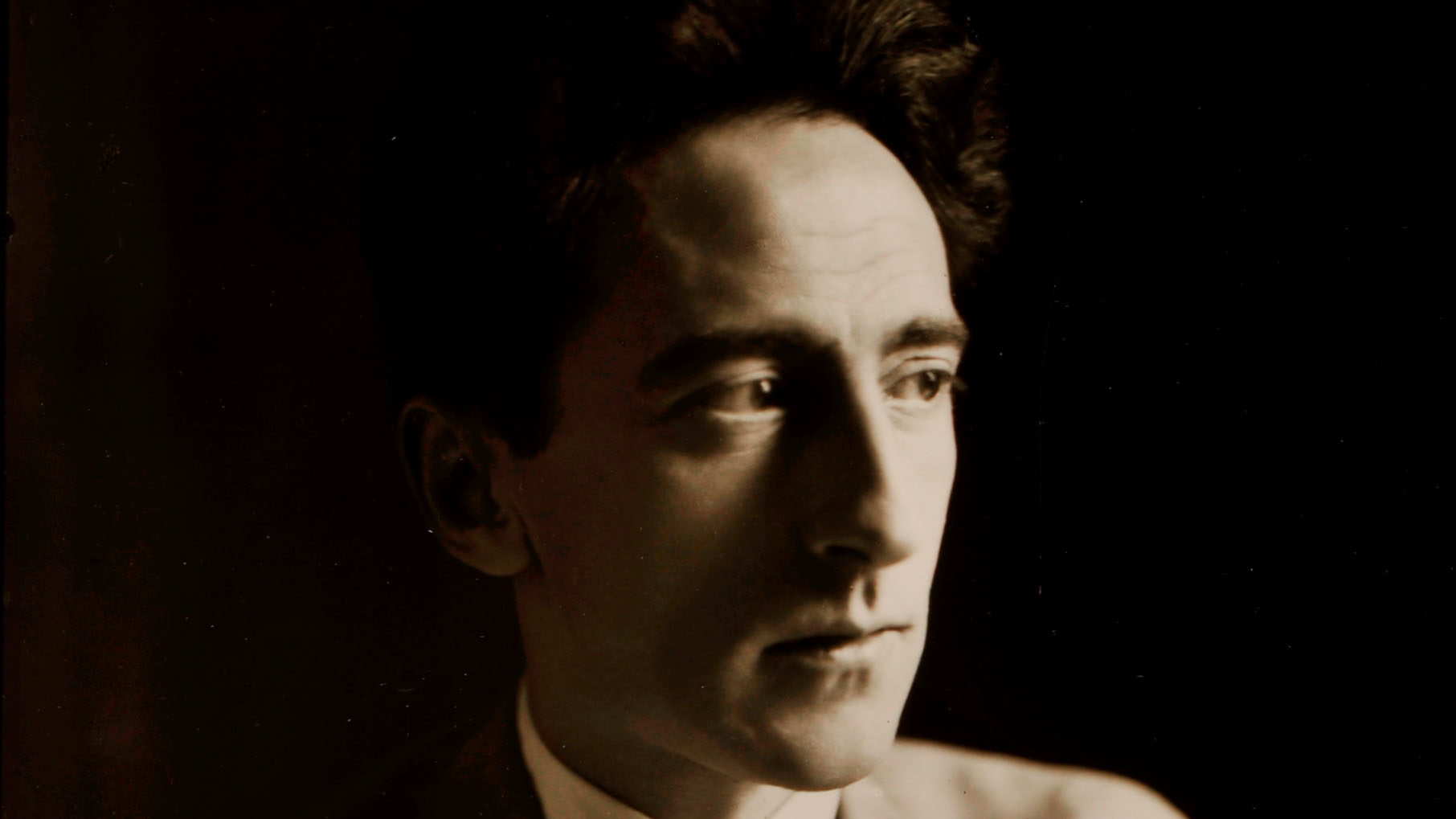 Germaine Krull, Jean Cocteau, Paris 1929 - <p>1929 – 1978<br class='autobr' /> ©Germaine Krull Estate, Folkwand Museum</p>